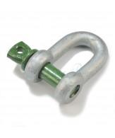 Manilles Green Pin droites standard / axe vissé