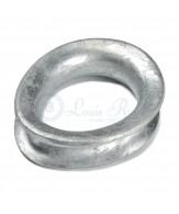 Cosses galvanisées type conteneur / ovale