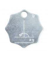 Plaquettes d'identification G80