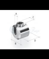 Serre-câble cylindrique